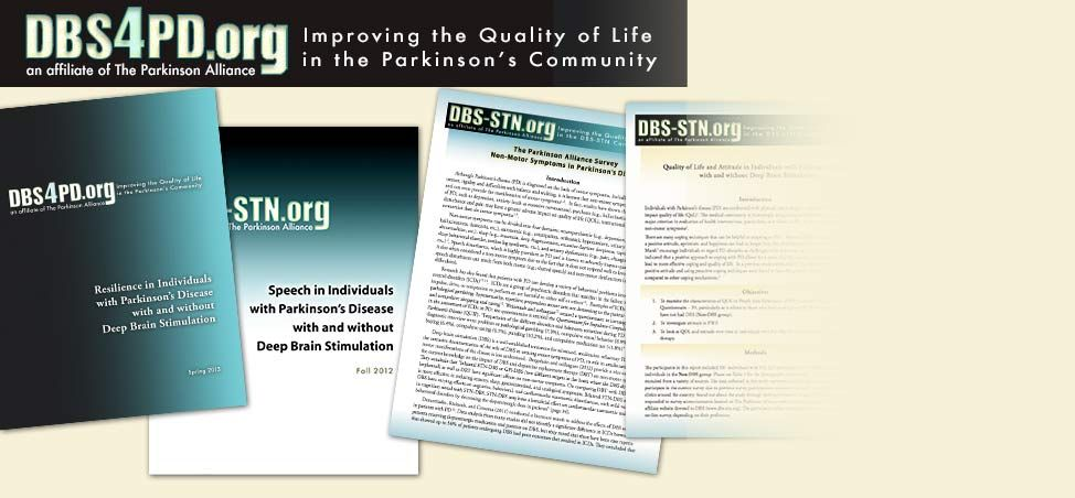 DBS4PD.org is committed to helping improve the quality of life of DBS-STN patients and their caregivers.