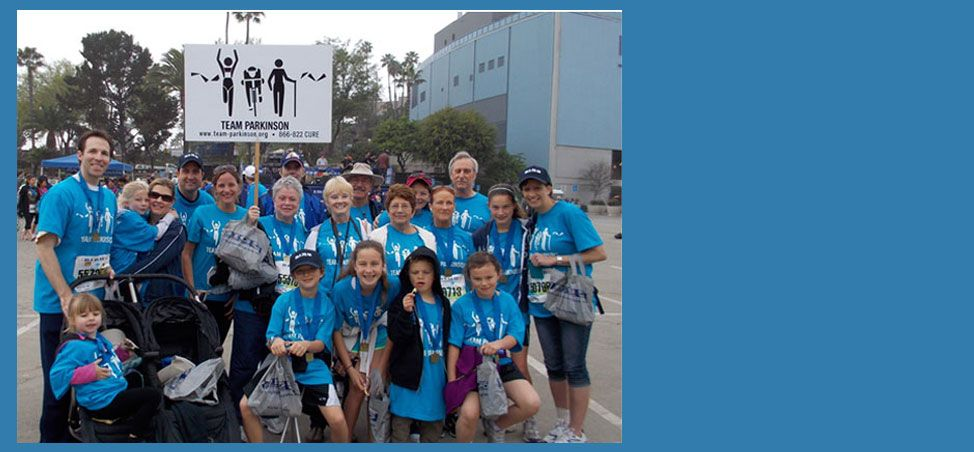 RUN/WALK/CHEER/GIVEJoin Team Parkinsonat theSkechers PerformanceLos Angeles Marathon