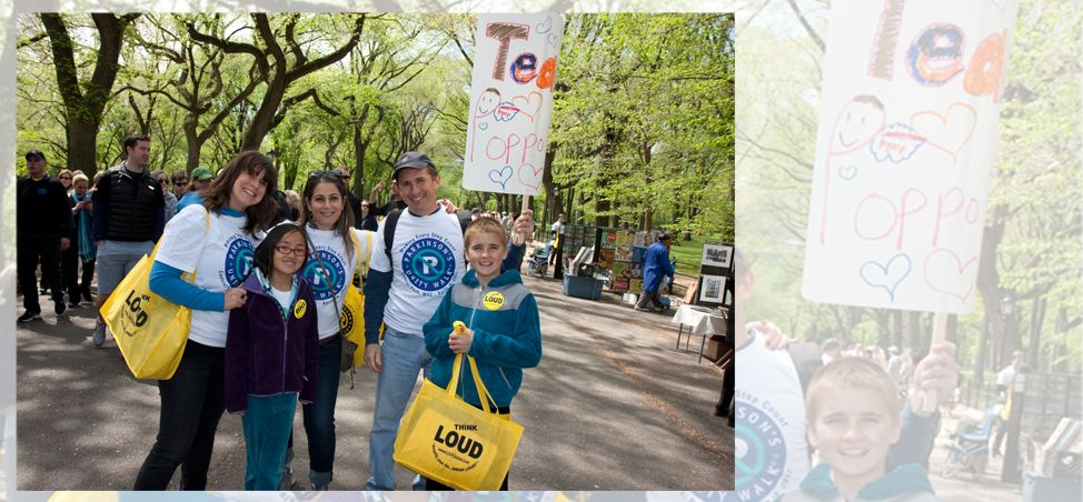 Parkinson's Unity WalkOur signature annual event held in New York's Central Park