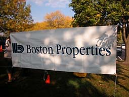 Boston Properties sign