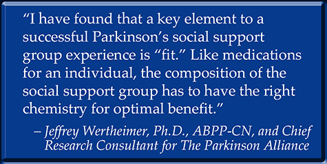 Parkinson's Social Support